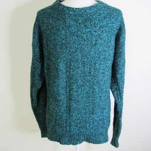 VTG ALPS RUGGED OUTDOORS Teal/Black Sweater SZ M